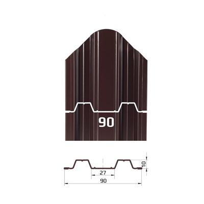 Металлоштакетник Константа (90мм)